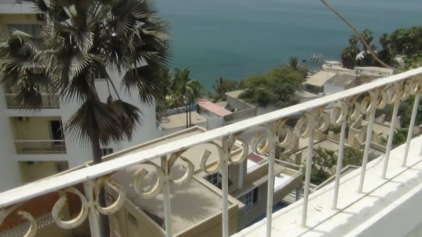 Sea view apartment for rent in Plateau, Dakar