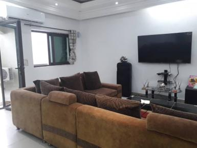 Beautiful furnished villa for rent in Cocody center (Angre), Abidjan