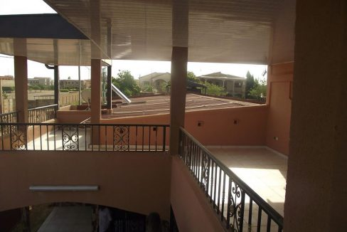 Burkina maron balcon 0022625308383