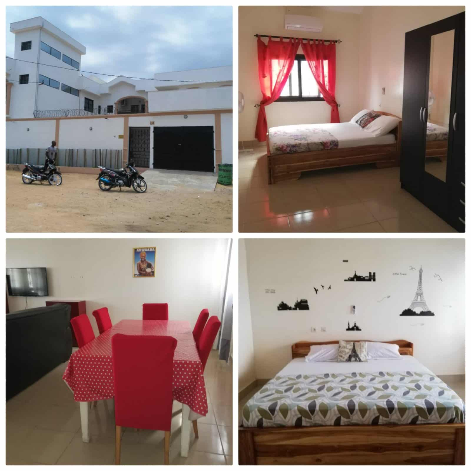 Superb well furnished apartment for rent in kpogan, Lome