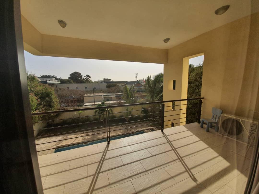 House for rent Dakar Fann residence