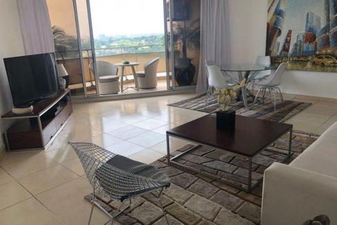 Appartement meublé à louer à Abidjan 05555929 Salon