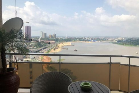 Appartement meublé à louer à Abidjan 05555929 vue sur mer