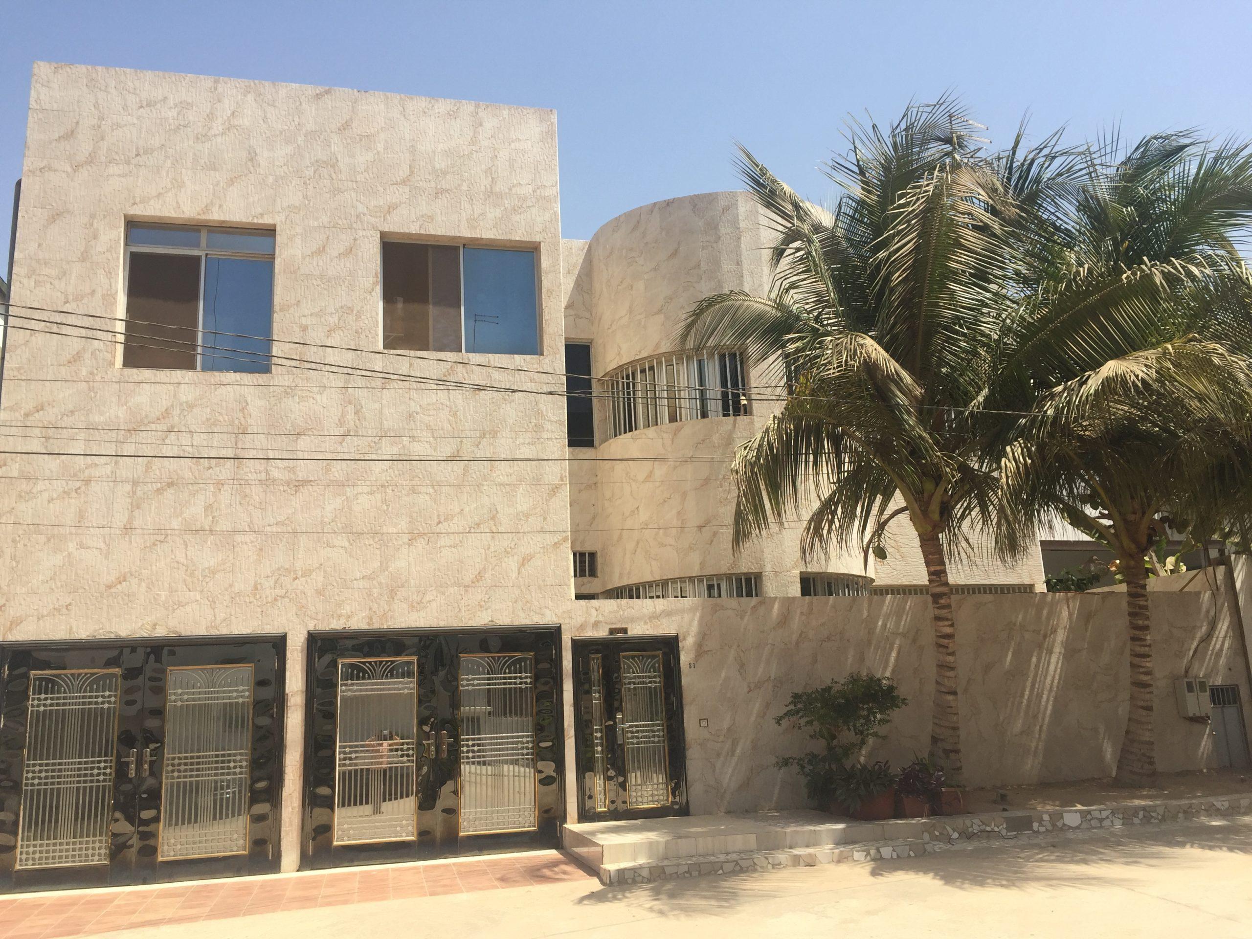 Maison à louer Dakar Mamelles