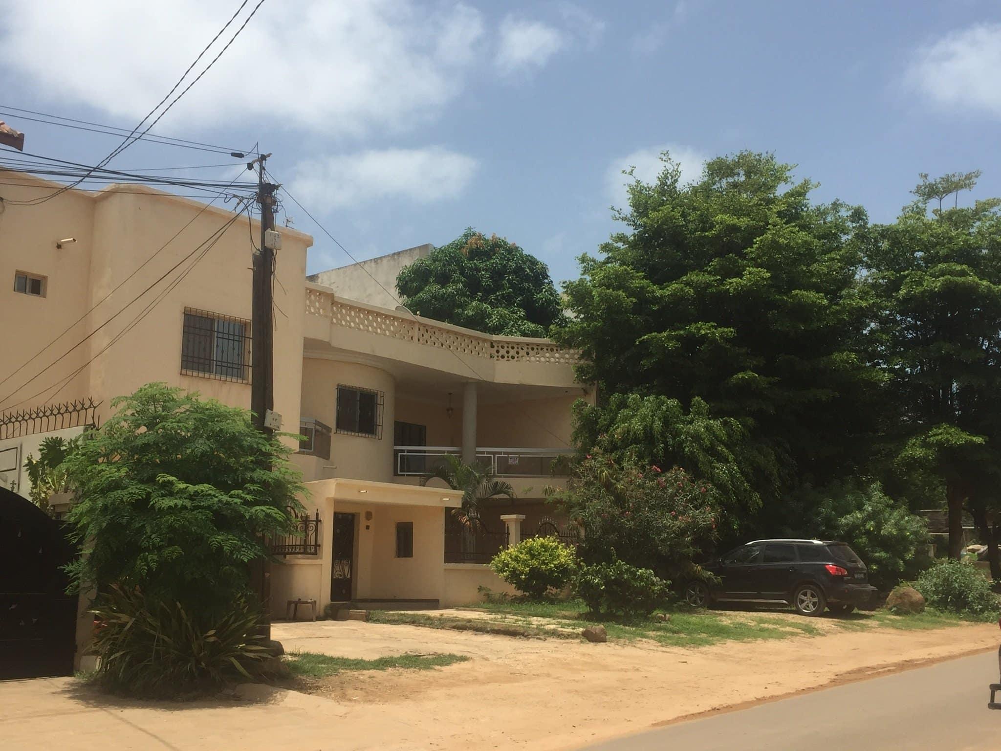 House for rent Dakar Mamelles