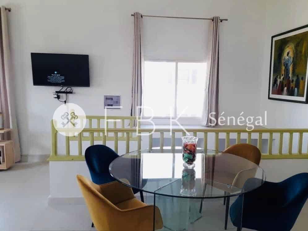 Appartement meublé 3P à louer sur Ngor-Almadies, Dakar