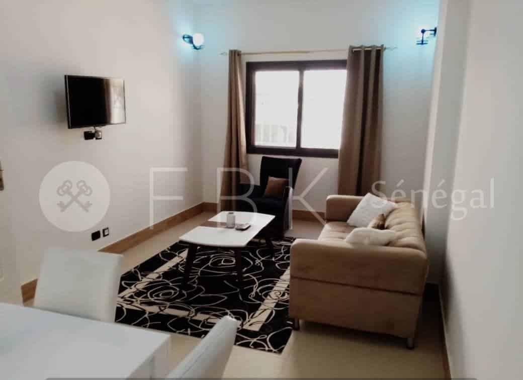Appartement meublé 3P à louer à Sacré cœur 3, Dakar