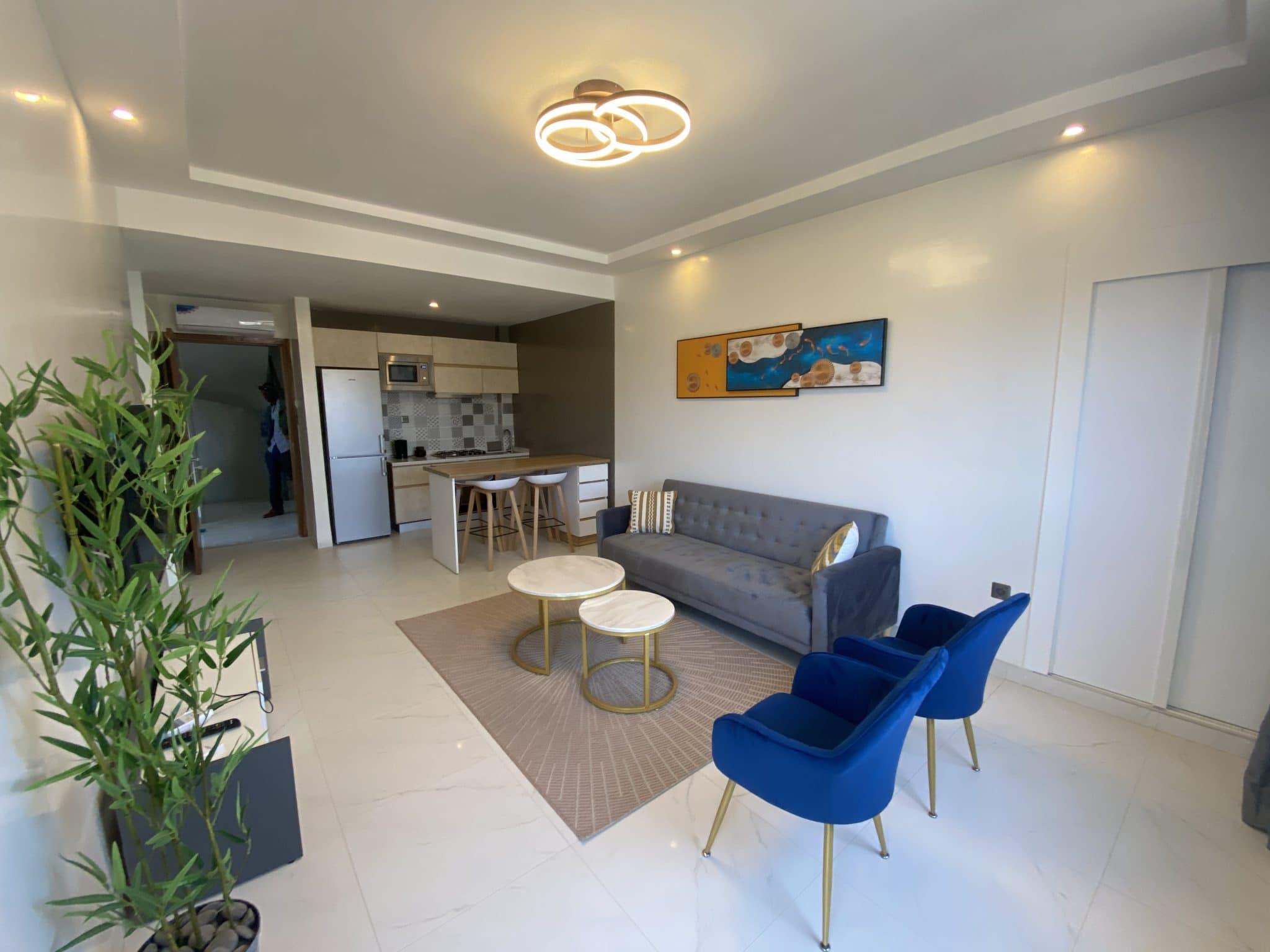 Studio meublé à louer DAkar Ngor-Almadies