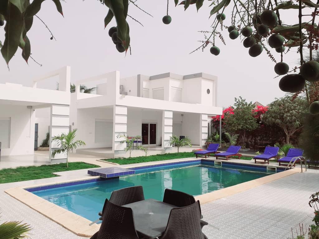 Villa Meublé à Louer à Saly