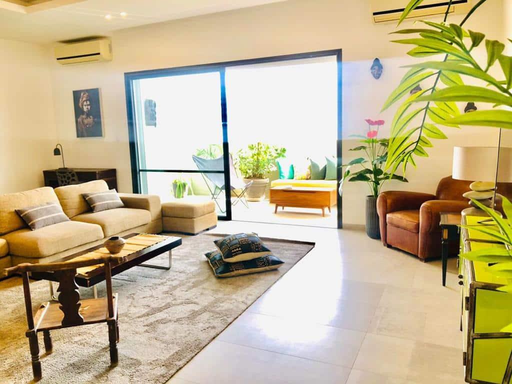 Appartement meublé à Louer à Dakar aux Almadies