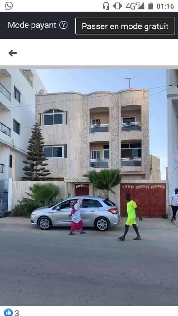 Villa à vendre à la cité Onomo