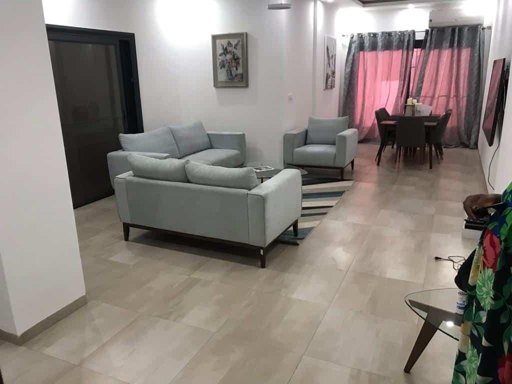 Appartement meublé à louer à Mermoz