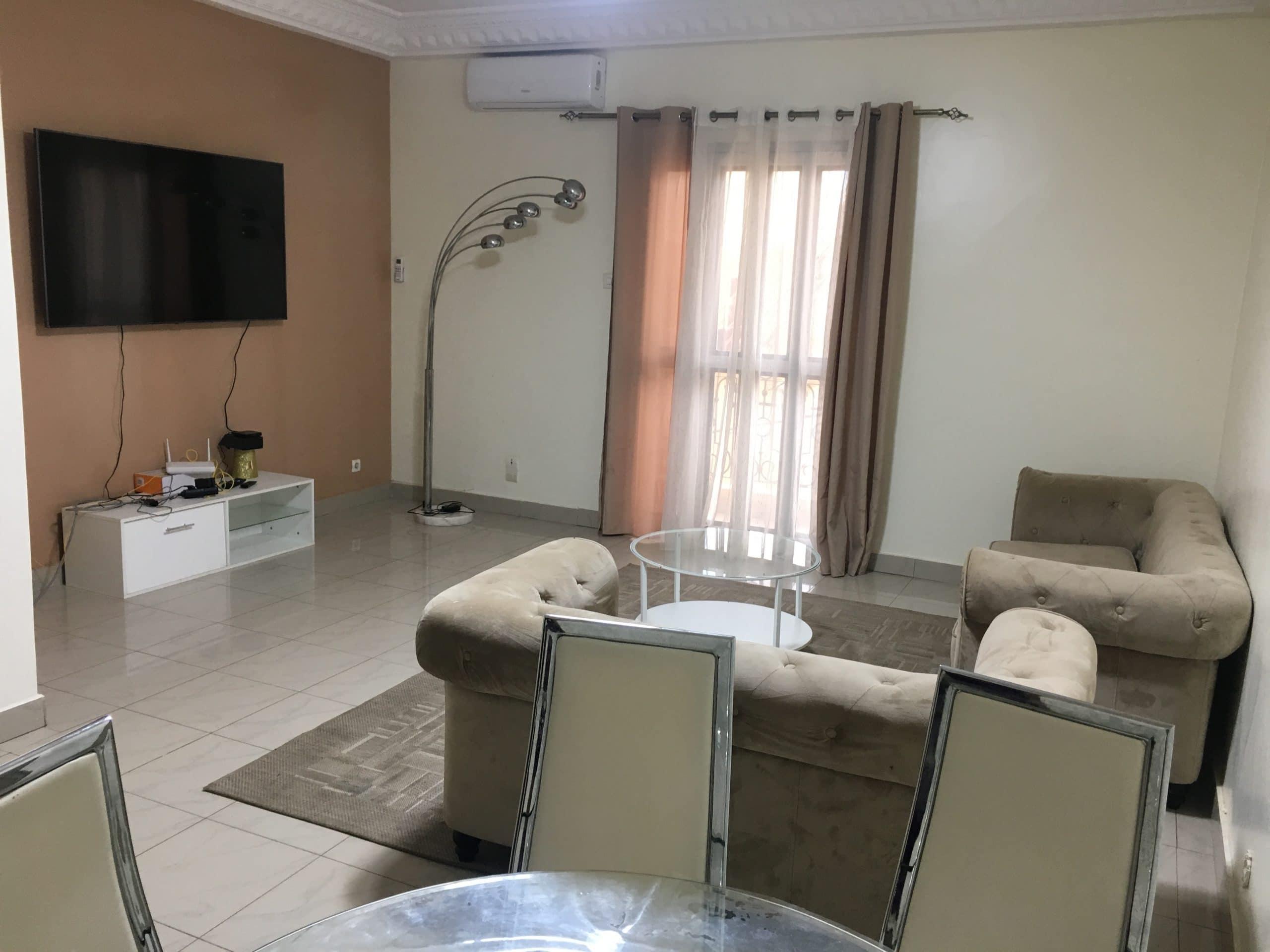 Appartement Meublé à Louer à Dakar à la Cité batrain