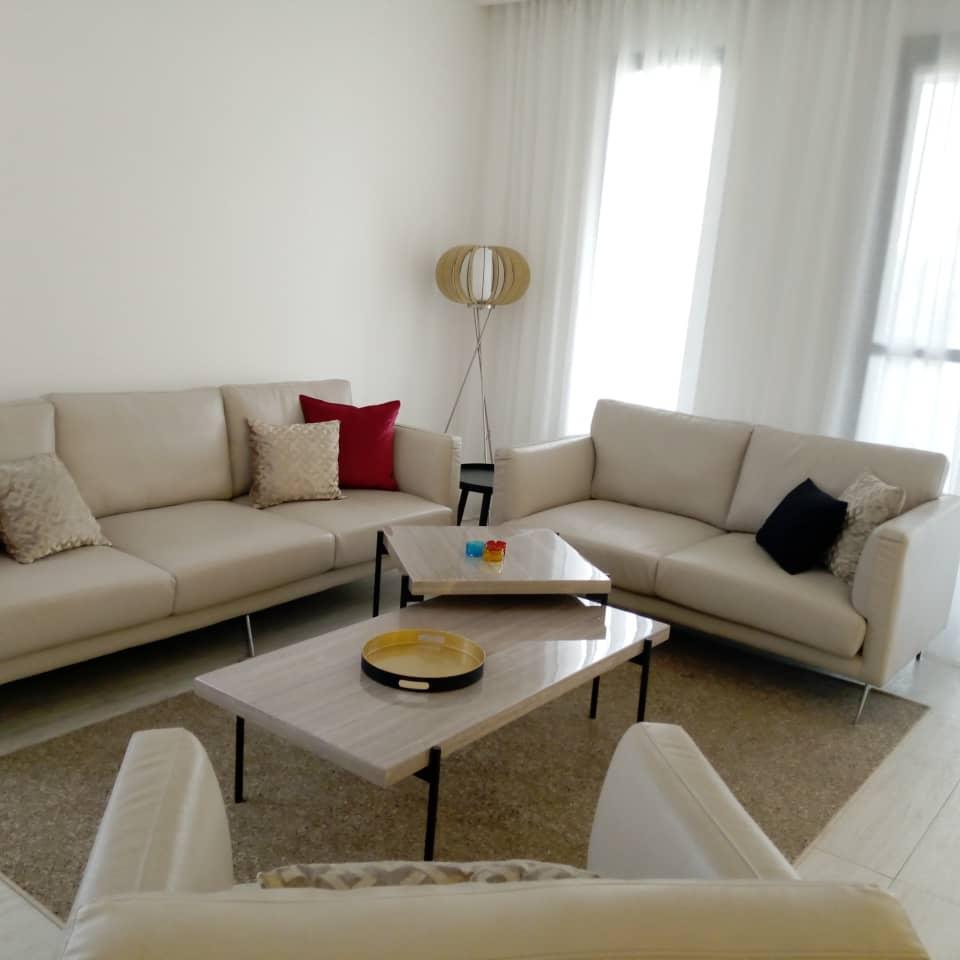 Appartement meublé à louer au point E